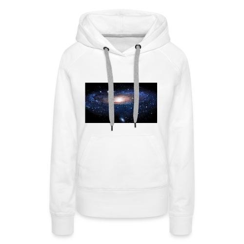 Galaxy - Sweat-shirt à capuche Premium pour femmes