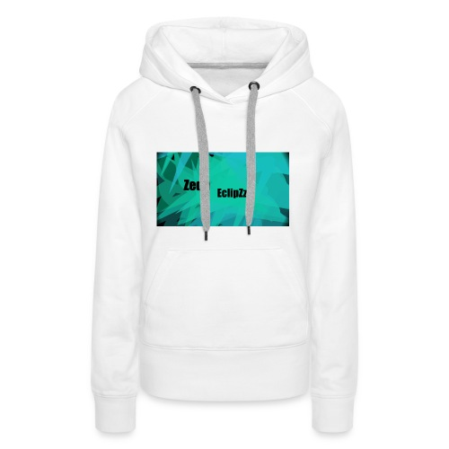 Zeqh EclipZz Youtube Name - Women's Premium Hoodie