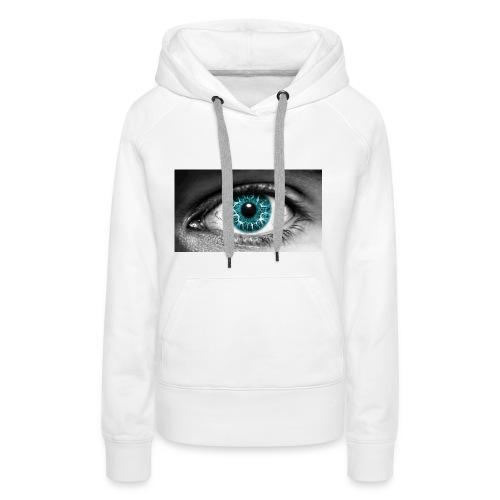 eyes_2 - Vrouwen Premium hoodie