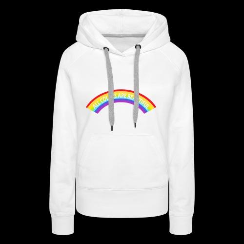 All colors are beatiful - Frauen Premium Hoodie
