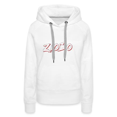 white ziobo - Women's Premium Hoodie