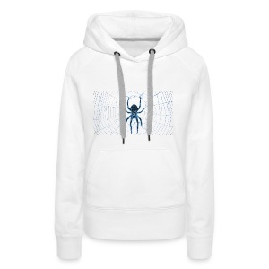 Araña Firme - Sudadera con capucha premium para mujer