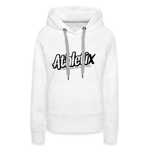 Athletix Logo 2 Druckdatei - Frauen Premium Hoodie