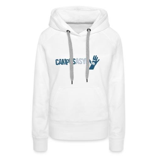 CampusAsyl einfach mit Händen - Frauen Premium Hoodie