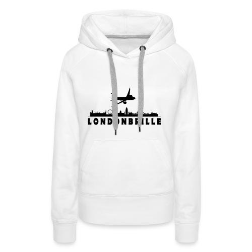 Londonbrille - Frauen Premium Hoodie
