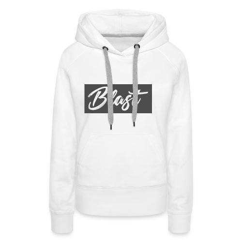 Blast T-shirt - Sudadera con capucha premium para mujer