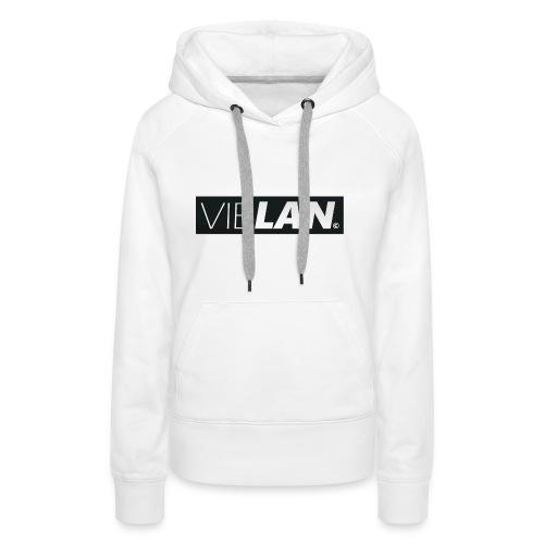 VibLAN_LOGO - Dame Premium hættetrøje