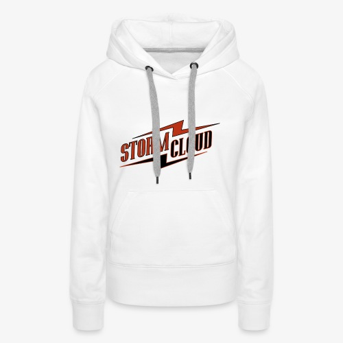 stormcloud logo print - Frauen Premium Hoodie