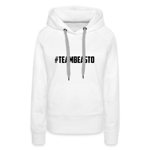#TeamBeasto Black Best Sellers - Women's Premium Hoodie