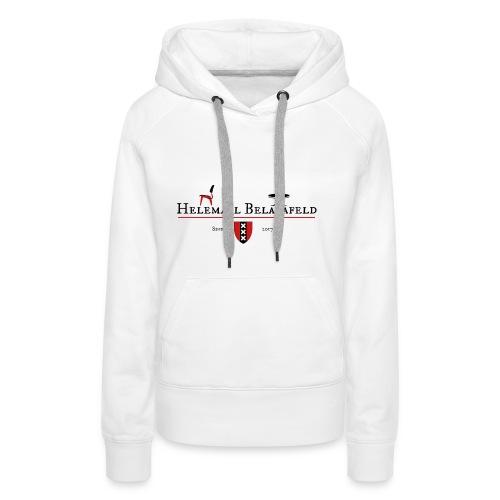 Helemaal Belatafeld - Vrouwen Premium hoodie