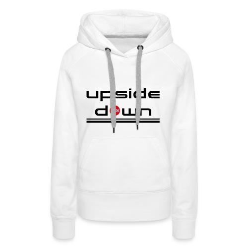 UpSideDown - Vrouwen Premium hoodie