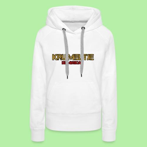 Hoesje I-phone 6/6s Kruimeltje de Musical - Vrouwen Premium hoodie