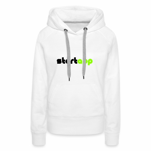 StartApp Logo Transparent Background - Women's Premium Hoodie