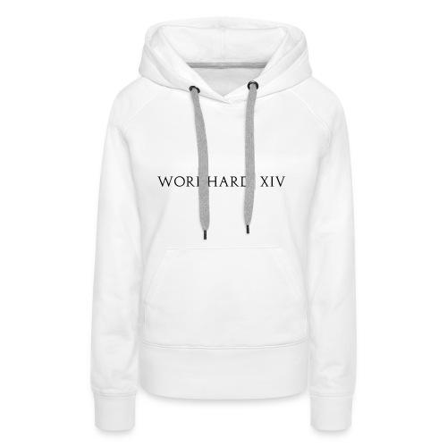WORKHARD XVI - Dark Logo - Women's Premium Hoodie