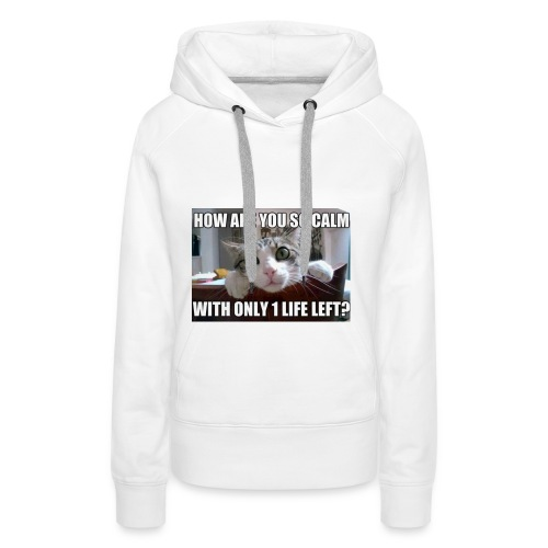 Y u so calm - Women's Premium Hoodie
