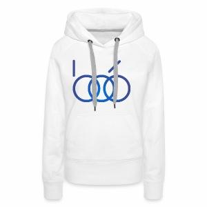 B06 IT Solutions Logo (blue) - Frauen Premium Hoodie