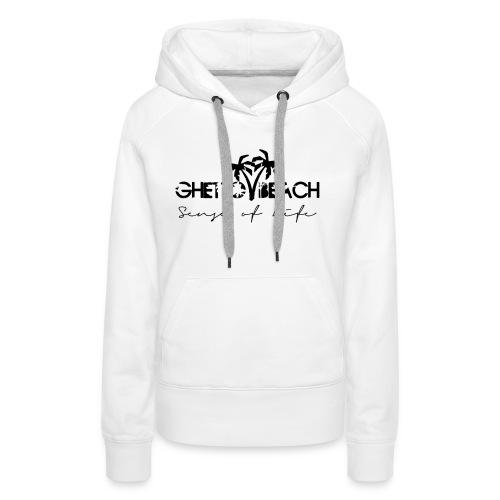 Ghetto Beach Logo - Frauen Premium Hoodie