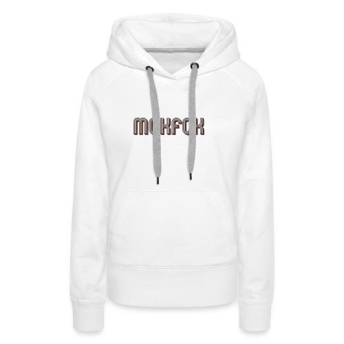 MCKFCK Logo - Frauen Premium Hoodie