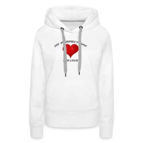 Mein Herzblatt finden - Frauen Premium Hoodie