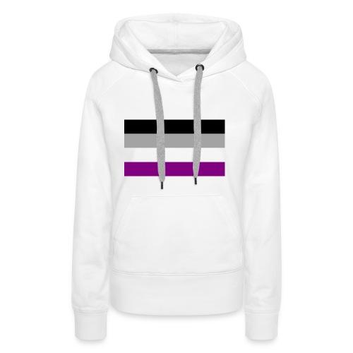 Asexual pride - Frauen Premium Hoodie