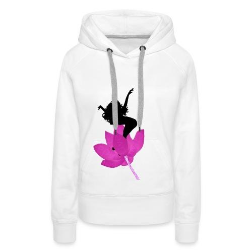 Jump life - Sudadera con capucha premium para mujer