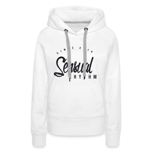 White Tight Tanktop - Sensual - Women's Premium Hoodie
