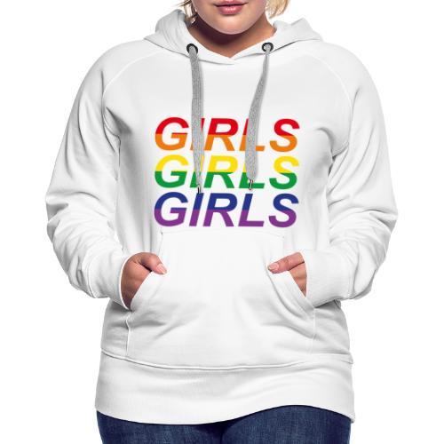 Girls x3 no. 2 - Premiumluvtröja dam