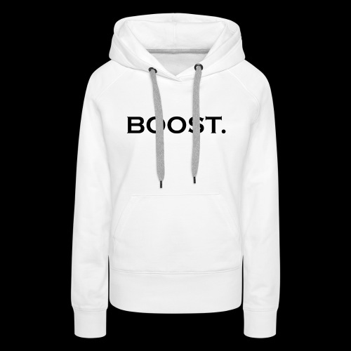 BOOST design - Frauen Premium Hoodie