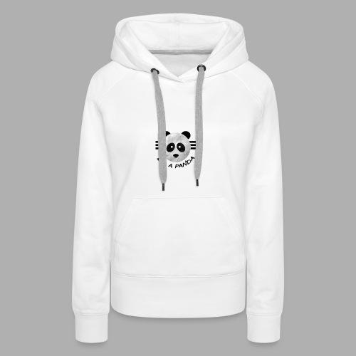 be a pandaa - Frauen Premium Hoodie