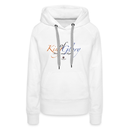 King of Glory by TobiAkiode™ - Women's Premium Hoodie