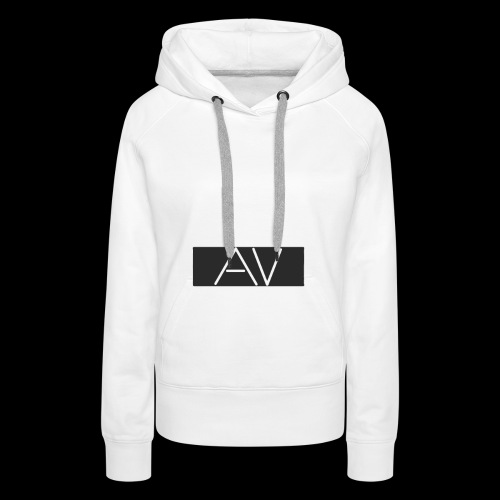 AV White - Women's Premium Hoodie