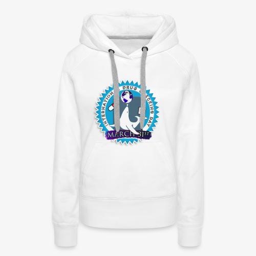 Drug Checking Day Seal - Vrouwen Premium hoodie