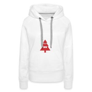 Kerstboom - Vrouwen Premium hoodie