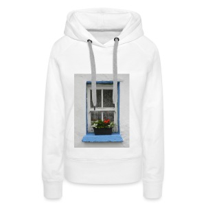 Cashed Cottage Window - Women's Premium Hoodie