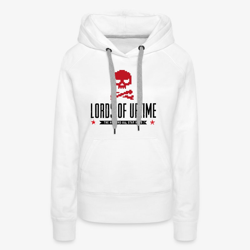 Lords of Uptime black - Frauen Premium Hoodie