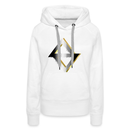PKC-> Triangel in Silver and Gold - Women's Premium Hoodie