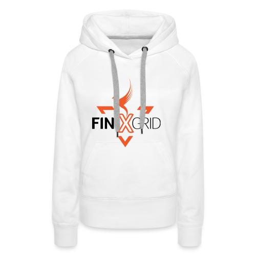 FinixGrid Orange - Women's Premium Hoodie