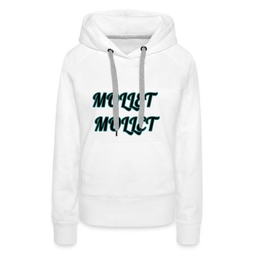 mollet mollet squad - Sweat-shirt à capuche Premium pour femmes