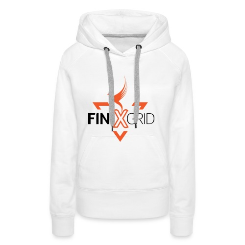 FinixGrid Orange - Women's Premium Hoodie