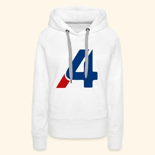 A4 - Sudadera con capucha premium para mujer