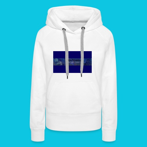 buismat bleu - Vrouwen Premium hoodie