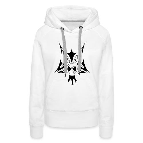 chien-chat - Sweat-shirt à capuche Premium pour femmes