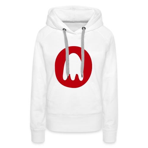 PT Ghost Logo - Women's Premium Hoodie