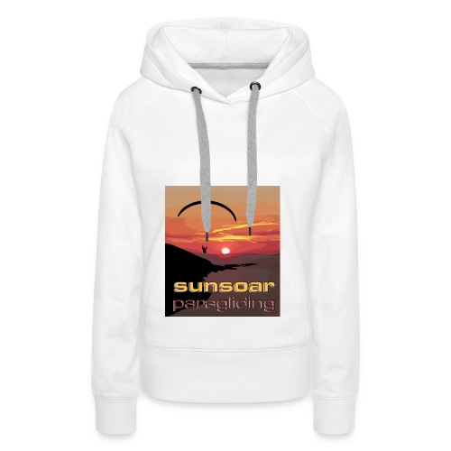 sunset flying - Women's Premium Hoodie
