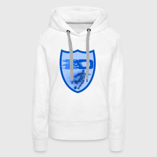 J R Footballers Shield Logo - Women's Premium Hoodie