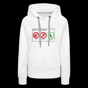 Windowseat Safety Instructions - Women's Premium Hoodie
