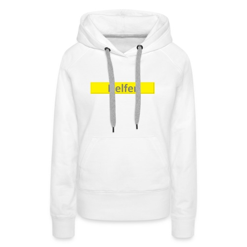 Helfer Logo 1 - Frauen Premium Hoodie