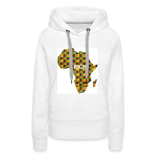 africa1 - Frauen Premium Hoodie