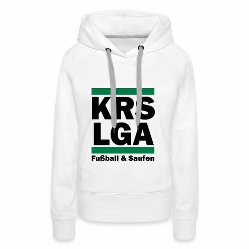 Das original Kreisliga Shirt KRSLGA - Frauen Premium Hoodie