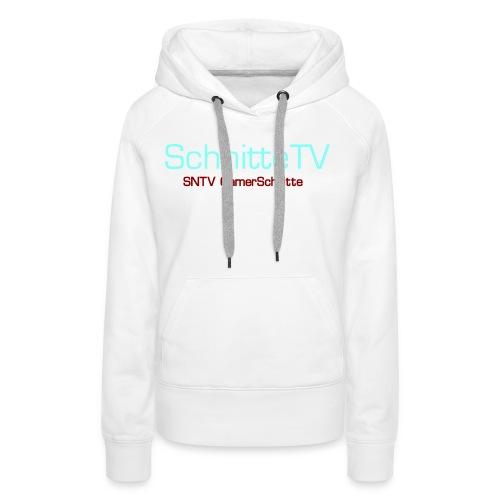 SchnitteTV SNTV GamerSchnitte - Frauen Premium Hoodie